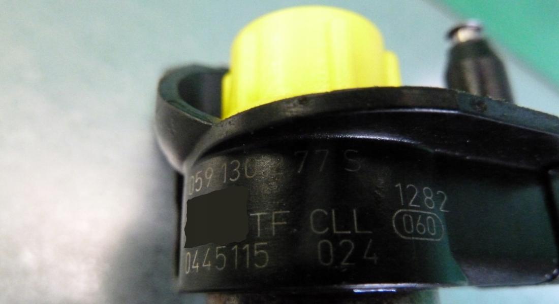 Injector 0445115024 - Injectoare 0445115024 Audi 3.0 V6 - Piezo Bosch